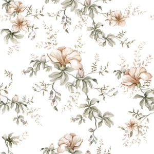 Tapeta Dekornik Flowers Of Wilderness White DEKO.TAP.128