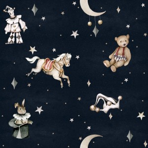 Tapeta Dekornik French characters in the night sky / Toys from the attic DEKO.TAP.161