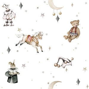 Tapeta Dekornik French characters in the light sky / Toys from the attic DEKO.TAP.162