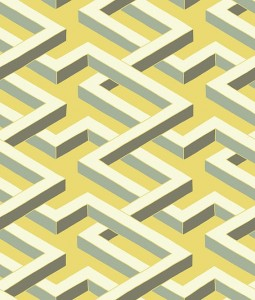 Tapeta Cole & Son Geometric II 105/1005 Luxor