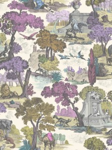 Tapeta Cole & Son - Folie - Versailles Grand A i B 99/16065 - 2 rolki