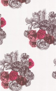 Tapeta Cole & Son - Fornasetti Collection - Peonie 77/3010