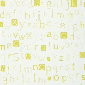 Tapeta Harlequin What a Hoot Little Letters 70523