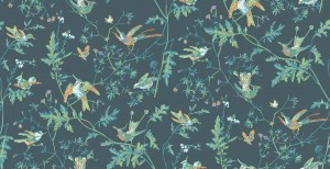 OL / Tapeta Cole & Son Icons 112/4014 Hummingbirds